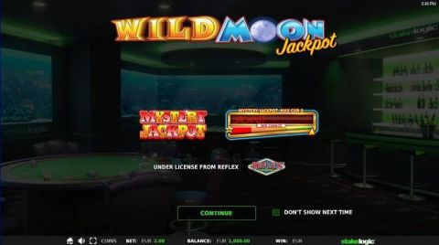 Wild Moon Jackpot Fun Slots by StakeLogic with 4 Reel and 7 Line