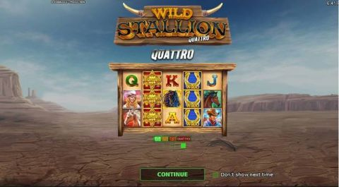 Wild Stallion Quatro Fun Slots by StakeLogic with 5 Reel and 30 Line