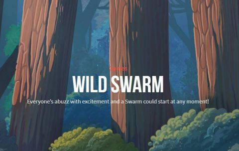 Wild Swarm Fun Slots by Push Gaming with 5 Reel and