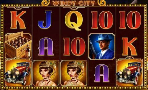Windy City Fun Slots by Endorphina with 5 Reel and 10 Line