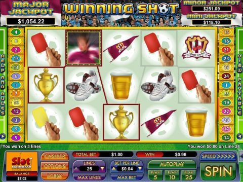 Winning Shot Fun Slots by NuWorks with 5 Reel and 25 Line