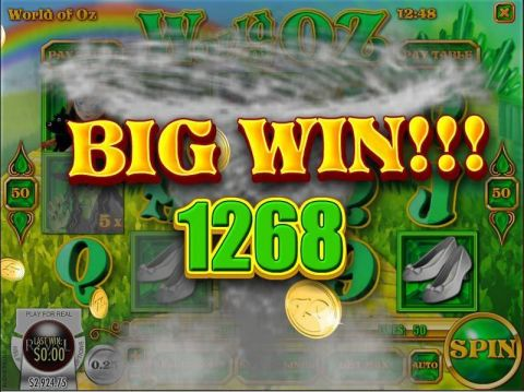 World of Oz Fun Slots by Rival with 5 Reel and 50 Line