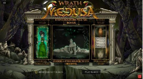 Wrath of Medusa Fun Slots by Rival with 5 Reel and 20 Line