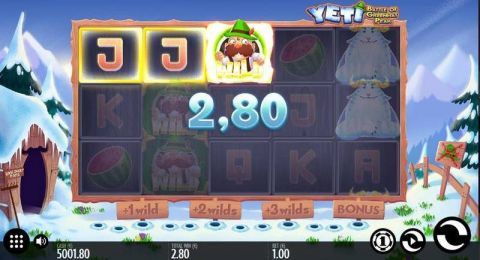 Yeti - Battle of Greenhat Peak Fun Slots by Thunderkick with 5 Reel and 11 Line