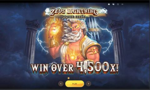 Zeus Lightning Fun Slots by Red Tiger Gaming with 7 Reel and 30 Line