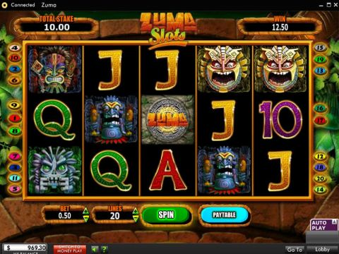 Zuma Fun Slots by Blueprint Gaming with 0 Reel and 0 Line